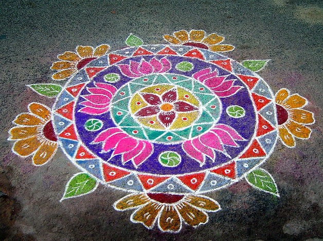 This post contains a collection of Kolams commonly used during ...