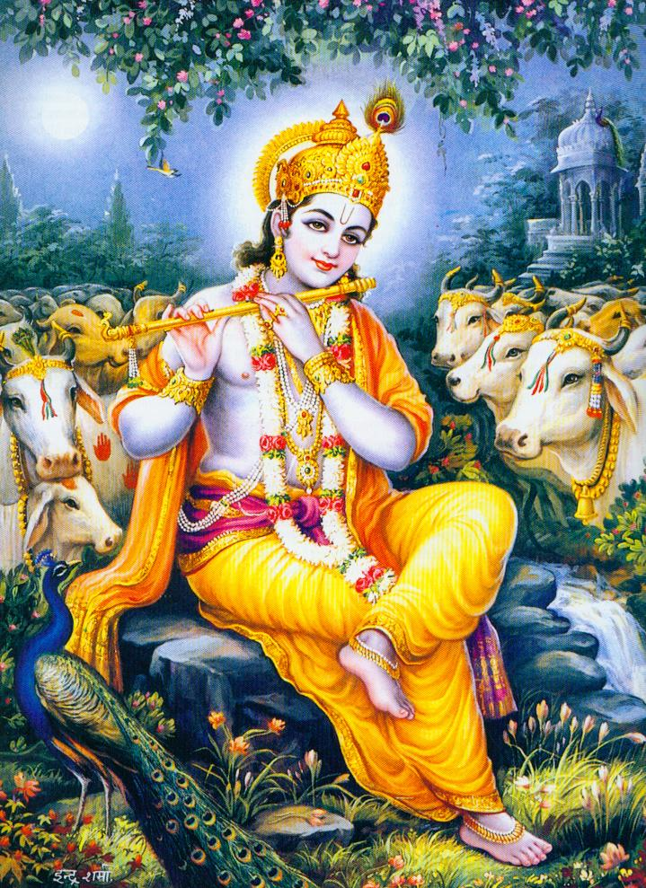 Krishna-With-Cows