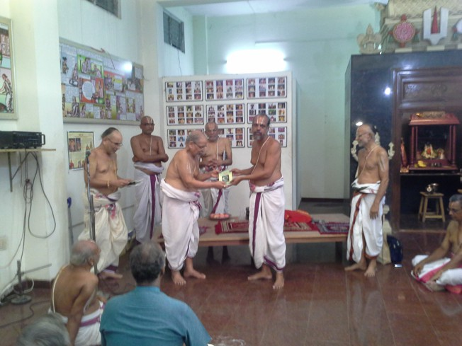 Book Release by Sri Karunakarachariar_11