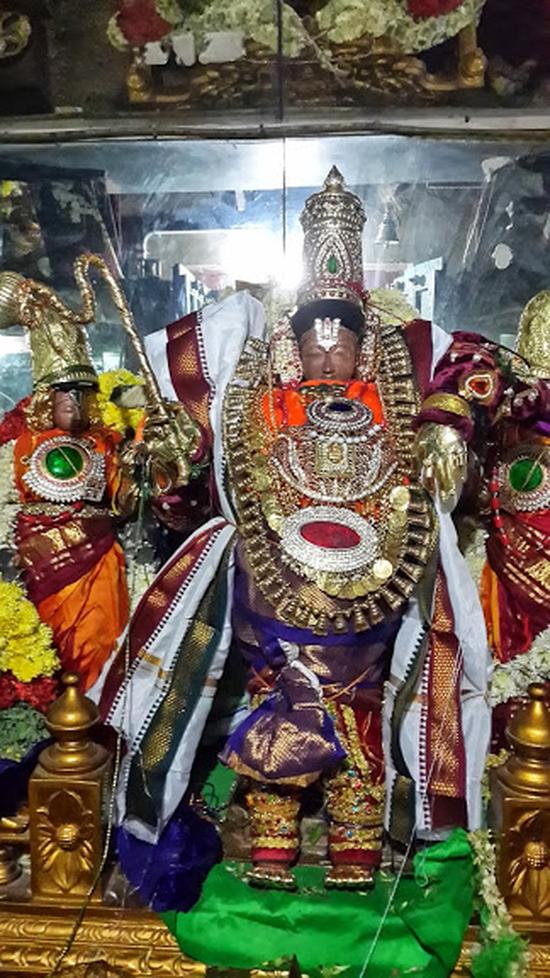 Annan Perumal Kovil  Brahmotsavam  2013 day1 to 5-01