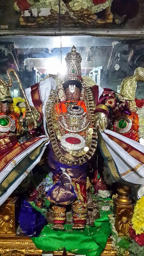 Annan Perumal Kovil  Brahmotsavam  2013 day1 to 5-02