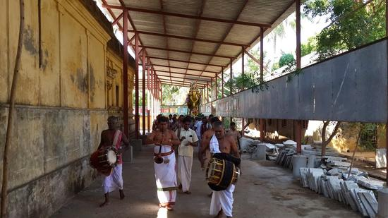 Annan Perumal Kovil  Brahmotsavam  2013 day1 to 5-04