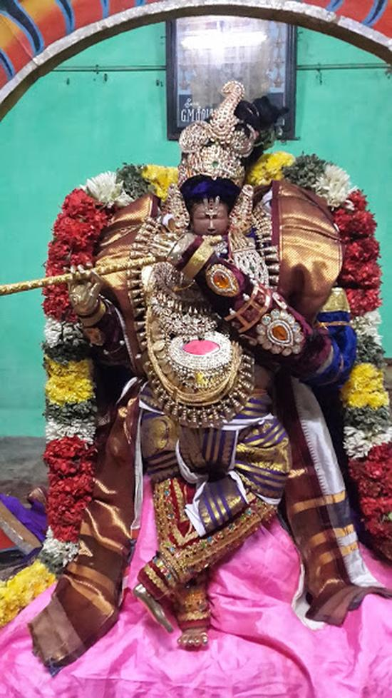 Annan Perumal Kovil  Brahmotsavam  2013 day1 to 5-14