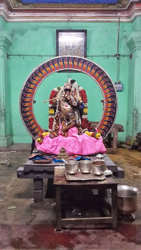 Annan Perumal Kovil  Brahmotsavam  2013 day1 to 5-18