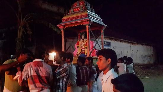 Annan Perumal Kovil  Brahmotsavam  2013 day1 to 5-19
