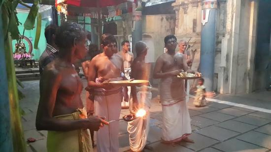 Annan Perumal Kovil  Brahmotsavam  2013 day1 to 5-20