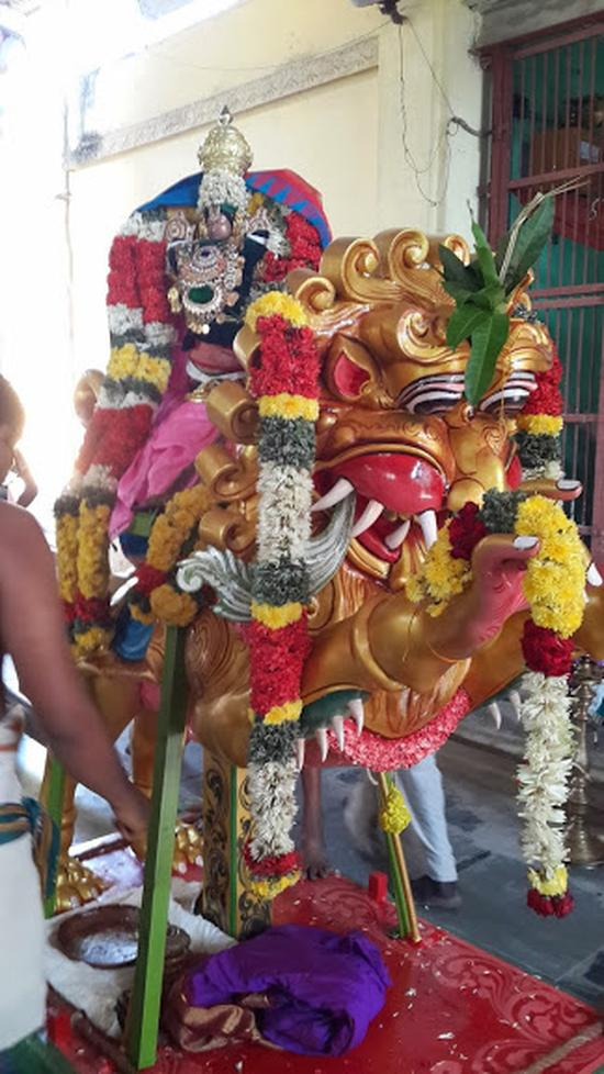 Annan Perumal Kovil  Brahmotsavam  2013 day1 to 5-22