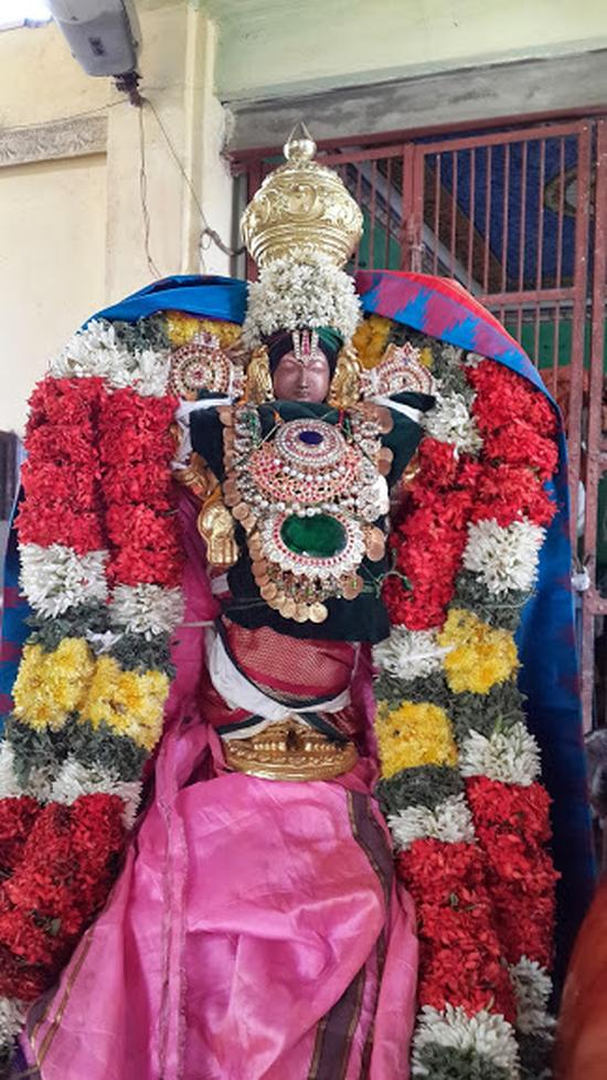 Annan Perumal Kovil  Brahmotsavam  2013 day1 to 5-23