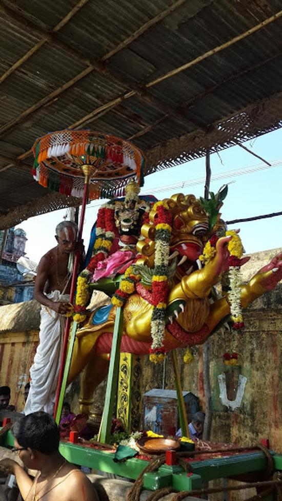 Annan Perumal Kovil  Brahmotsavam  2013 day1 to 5-25
