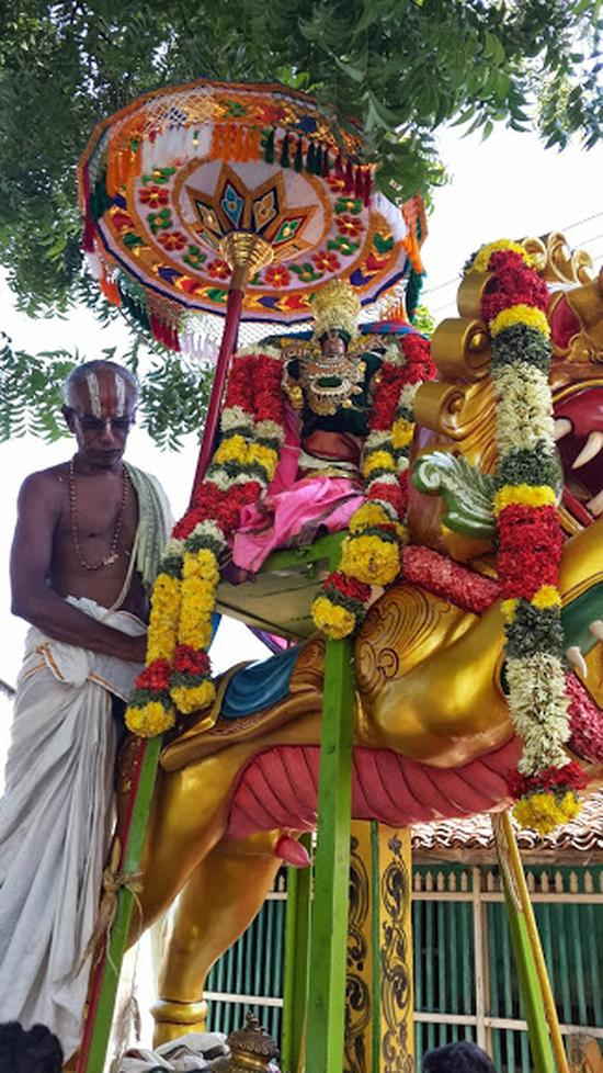 Annan Perumal Kovil  Brahmotsavam  2013 day1 to 5-26