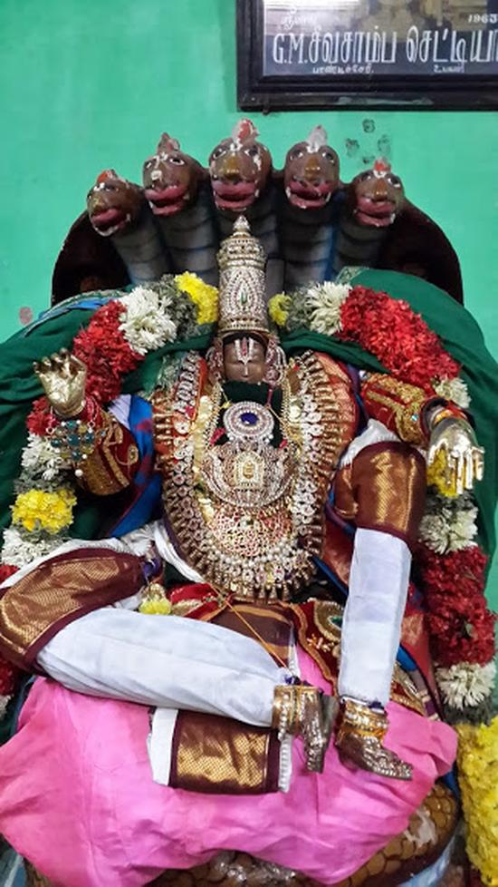 Annan Perumal Kovil  Brahmotsavam  2013 day1 to 5-27