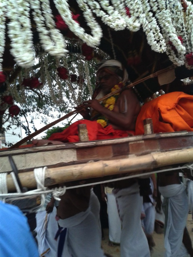 Azhagiyasingar Pattana Pravesam and Mangalasasanam at Melukote 2013-17
