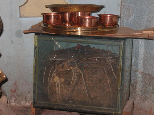 Box used by Ramanuja