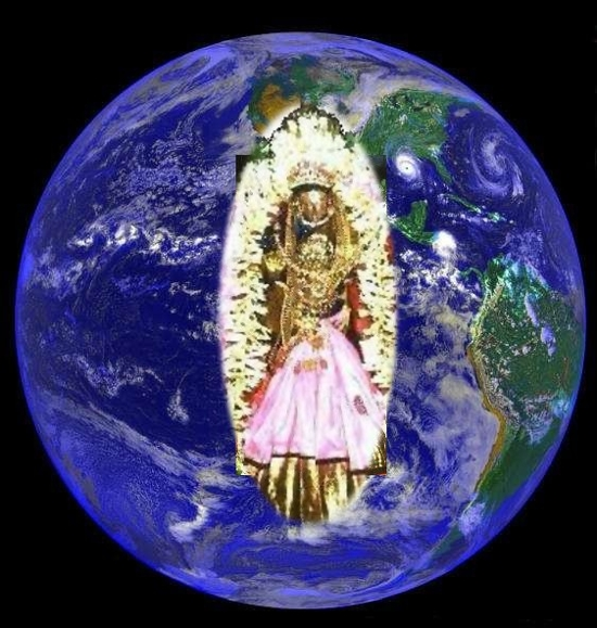 Bhumi Devi , the protectoress of the Universe