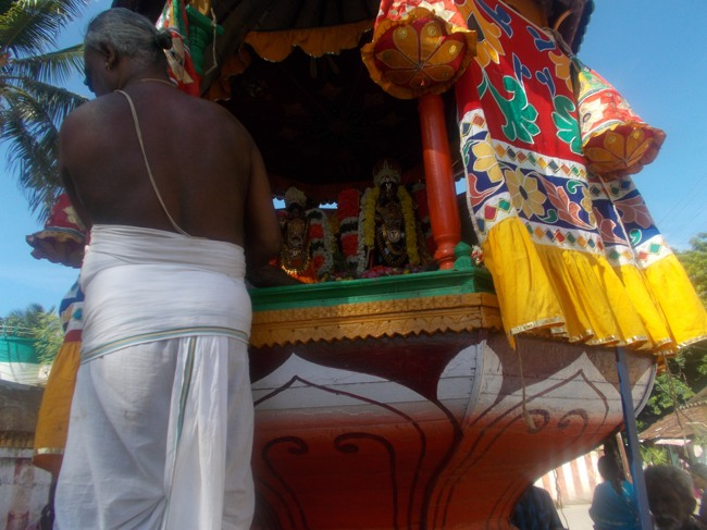 Oppiliappan Kovil Brahmotsavam THiruther 2013 day 9 -10
