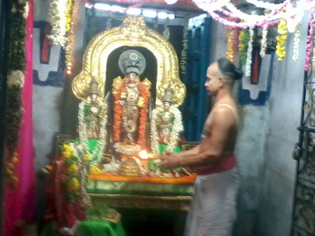 Thirumangai Azhwar janma thirunakshatram at thiruvellukkai 2013-14