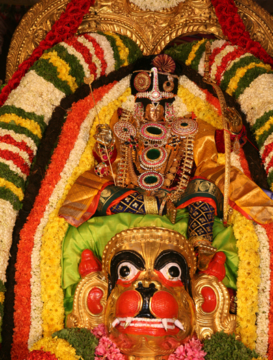 thiruchanoor hanumantha vahanam