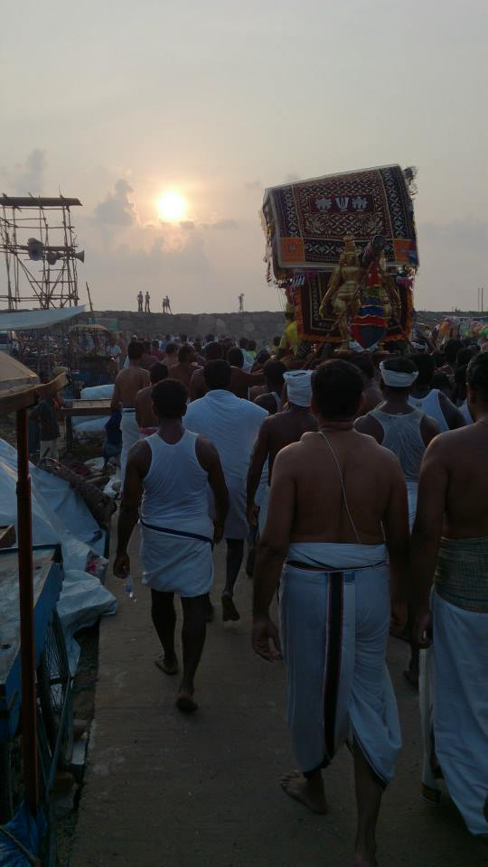 Masi magam utsavam at THiruvahindrapuram  2014 -7