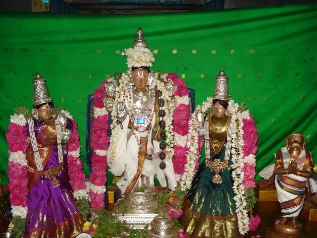 Thiruvelliangudi Sri Kolavilli Ramar with Hanuman