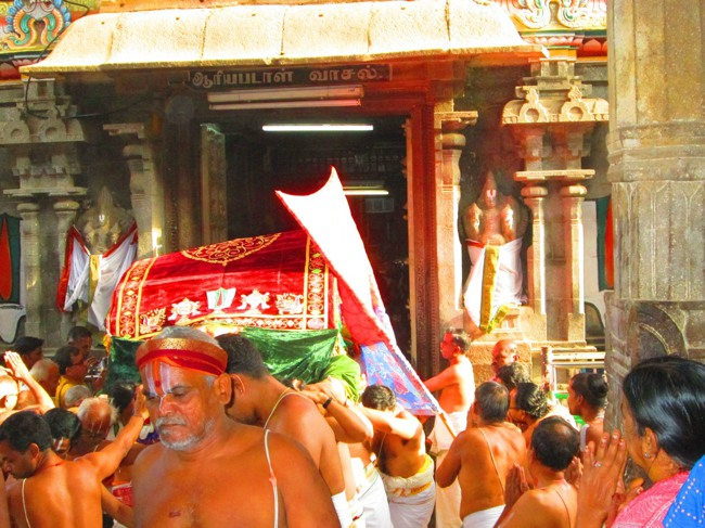 Srirangam Masi Theppotsavam Day 6 Morning 2014--01