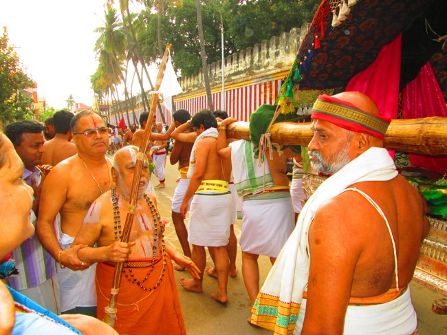 Srirangam Masi Theppotsavam Day 6 Morning 2014--14