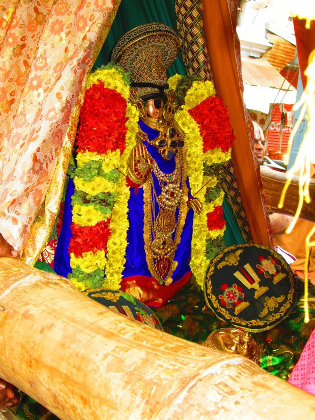 Srirangam Masi Theppotsavam Day 6 Morning 2014--31