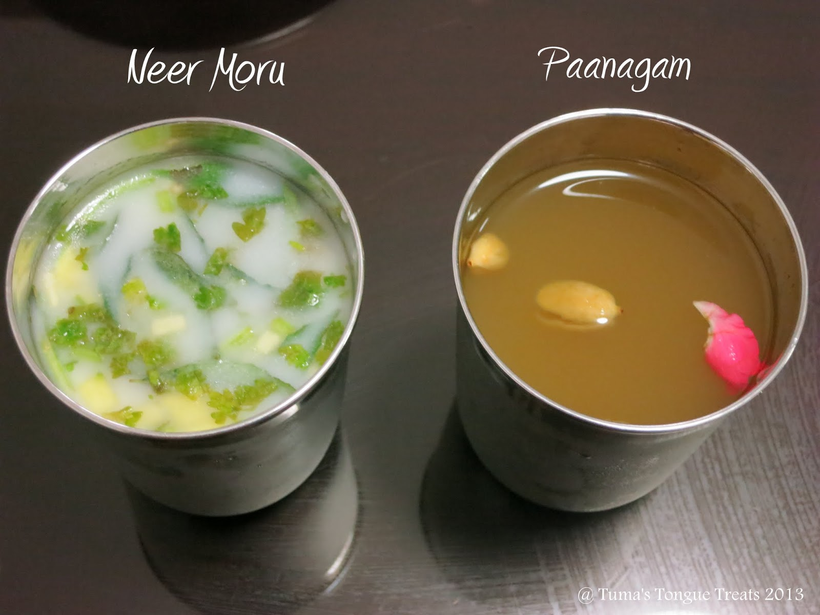 Neer Moru and Panagam
