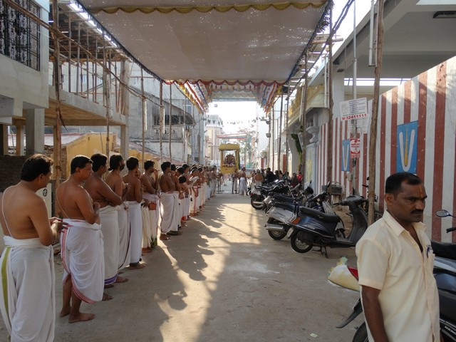 Mylapore SVDD Srinivasa Perumal  May 30,2014 Vaigasi Maasam Bhrahmotsavam Dwajarohanam and DAY 1 morning CHAPARAM 49