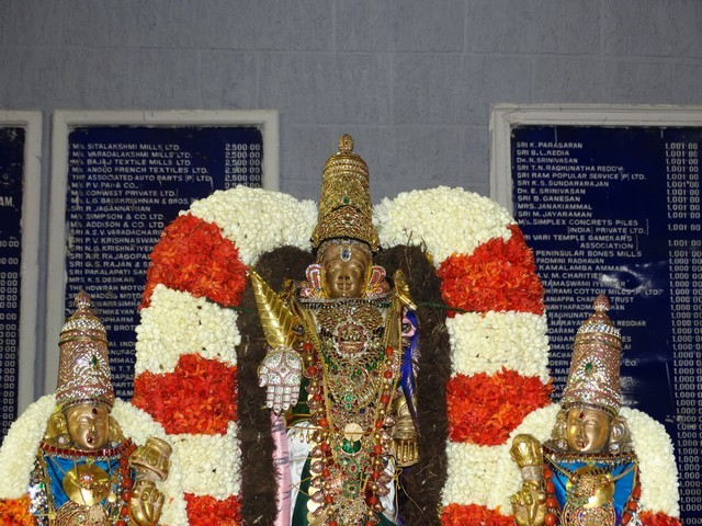 Mylapore SVDD Srinivasa Perumal  May 30,2014 Vaigasi Maasam Bhrahmotsavam Dwajarohanam and DAY 1 morning CHAPARAM 7