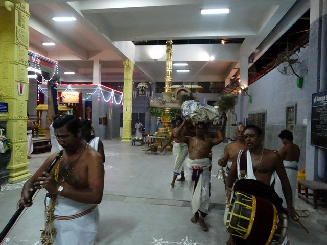 Mylapore SVDD Srinivasa Perumal  May 30,2014 Vaigasi Maasam Bhrahmotsavam Dwajarohanam and DAY 1 morning CHAPARAM 9