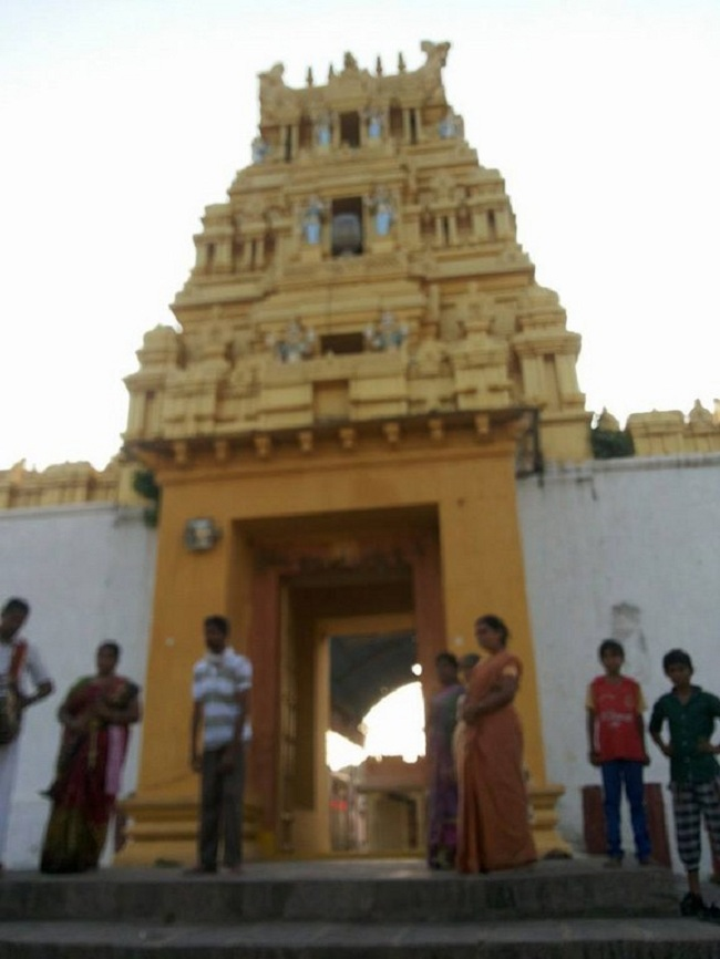 HH 46th Srimath Azhagiyasingar Mangalasasanam At Nirmal Sri Srinivasa Perumal Temple1