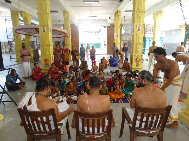 Mylapore SVDD Sri Srinivasa Perumal Temple Desika Prabandham And Stothram Competition For Children  07-09-2014  01