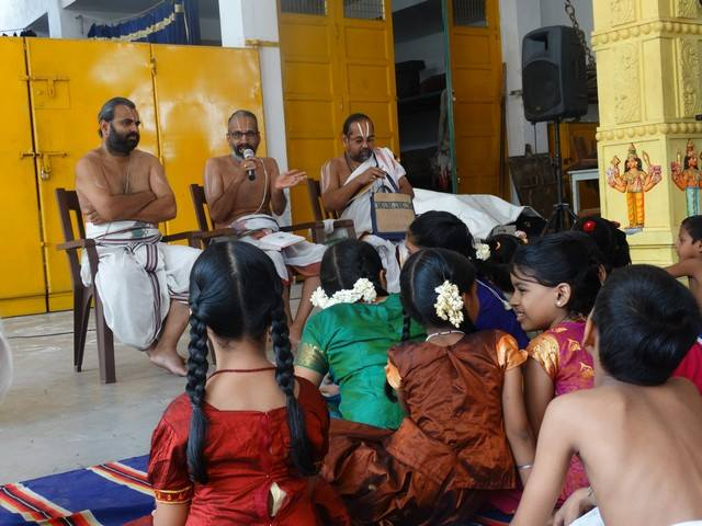 Mylapore SVDD Sri Srinivasa Perumal Temple Desika Prabandham And Stothram Competition For Children  07-09-2014  07