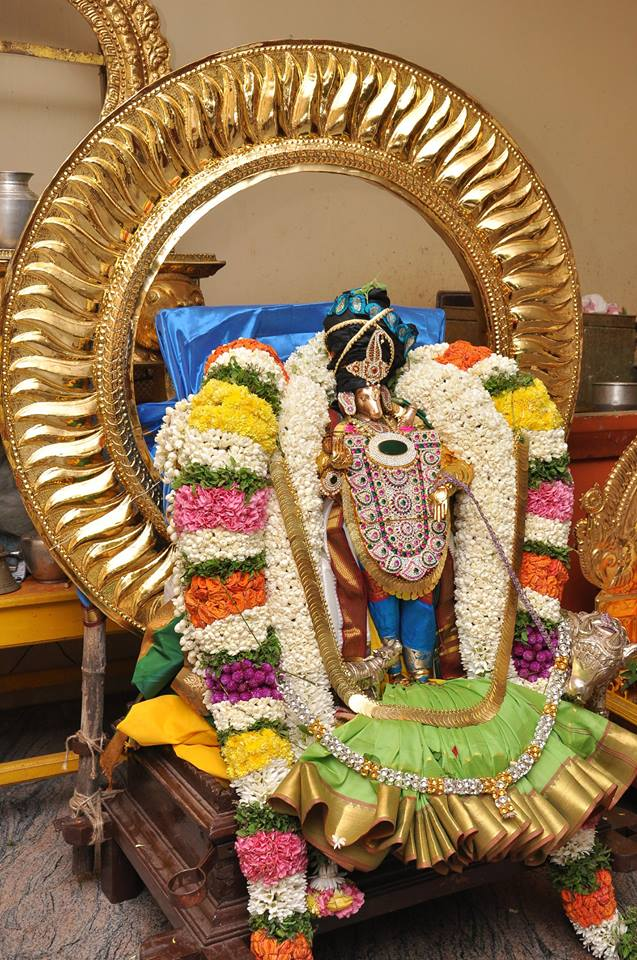 Pondicherry Hayagreevar Sannadhi Day 2 Surya Prabhai 2014 1