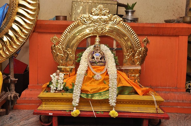 Pondicherry Hayagreevar Sannadhi Day 2 Surya Prabhai 2014 3