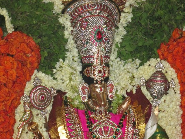 Pondicherry Hayagreevar Sannadhi Day 4 Garuda Sevai 2014 01