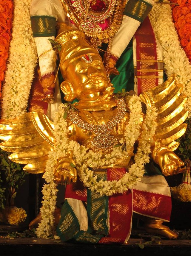 Pondicherry Hayagreevar Sannadhi Day 4 Garuda Sevai 2014 06