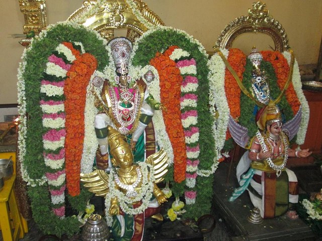 Pondicherry Hayagreevar Sannadhi Day 4 Garuda Sevai 2014 08