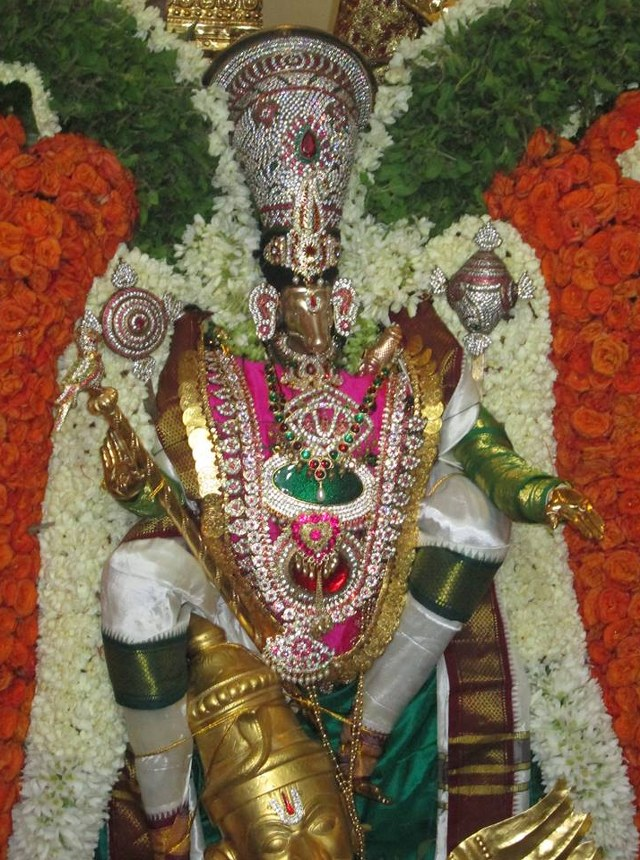 Pondicherry Hayagreevar Sannadhi Day 4 Garuda Sevai 2014 10