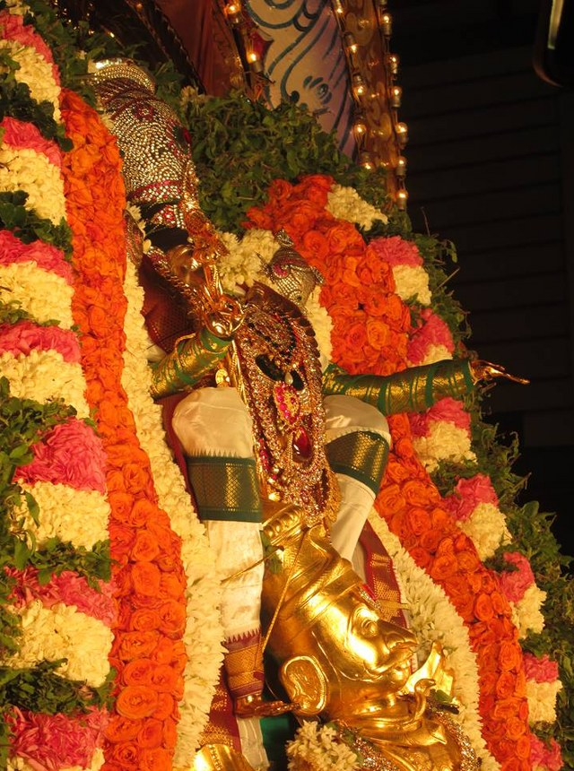 Pondicherry Hayagreevar Sannadhi Day 4 Garuda Sevai 2014 12