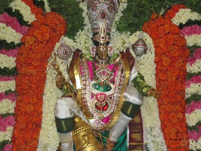 Pondicherry Hayagreevar Sannadhi Day 4 Garuda Sevai 2014 16