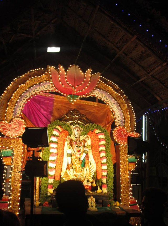 Pondicherry Hayagreevar Sannadhi Day 4 Garuda Sevai 2014 24