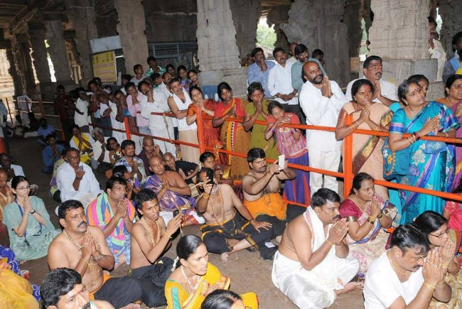 Swathi Sudharshana Homam at Lower ahobilam 2014 02