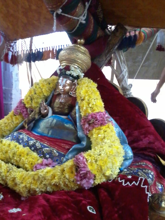 THiruvekka Poigai Azhwar Avatara utsavam day 10  morning thanga pallaku 11