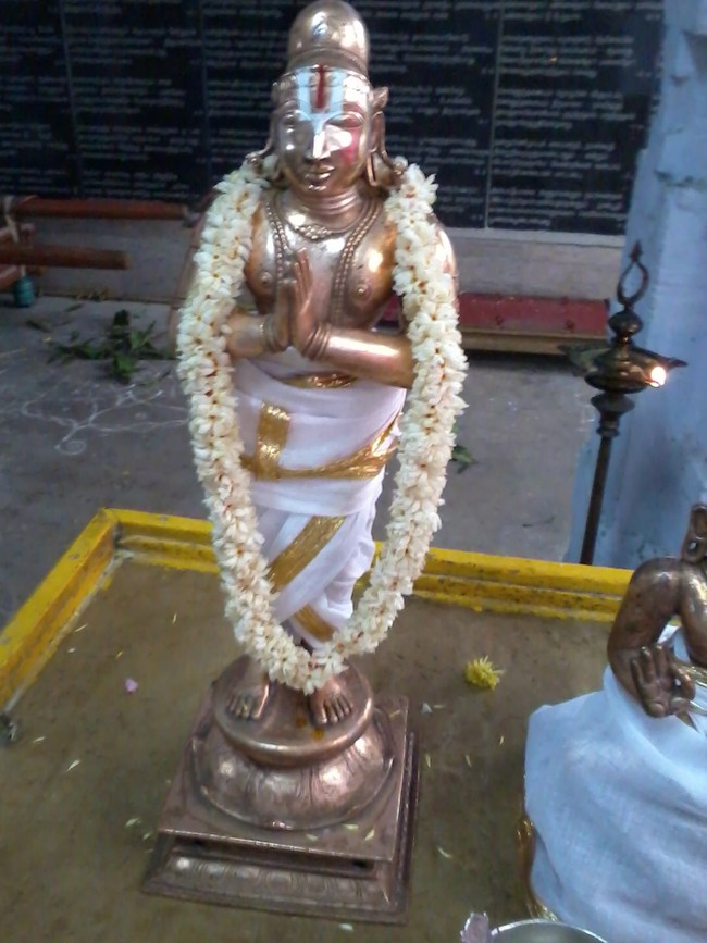 THiruvekka Poigai Azhwar Avatara utsavam day 10  morning thirumanjanam 03