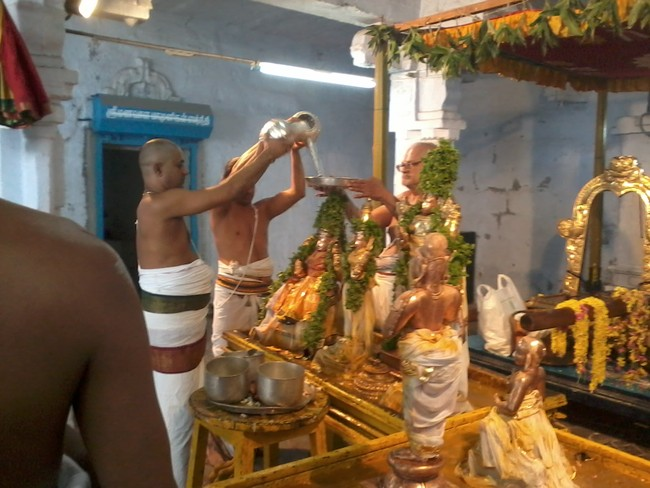 THiruvekka Poigai Azhwar Avatara utsavam day 10  morning thirumanjanam 09