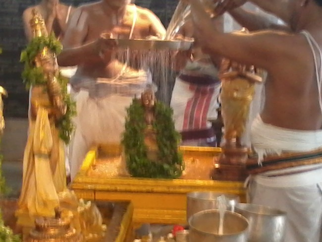 THiruvekka Poigai Azhwar Avatara utsavam day 10  morning thirumanjanam 12
