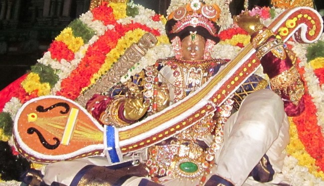 Thirucherai Sri Saranatha Perumal Temple Pagal Pathu Nachiyar Thirukolam  2014-6