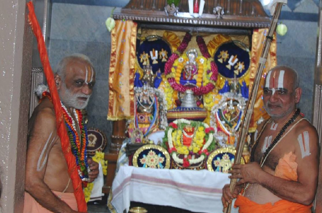 Sri Parakala Jeeyar at Sri Yatiraja Mutt