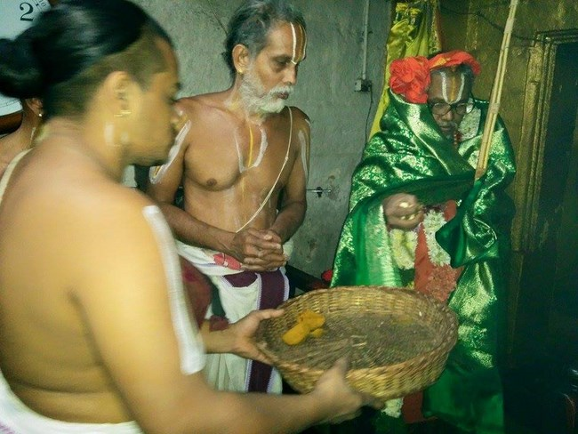 HH 46th Srimath Azhagiyasingar Mangalasasanam At Lower Ahobilam Sri Prahaladavardan Temple14
